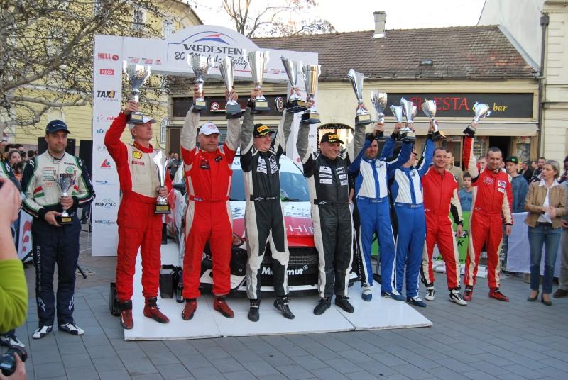 Miskolc Rally pódium